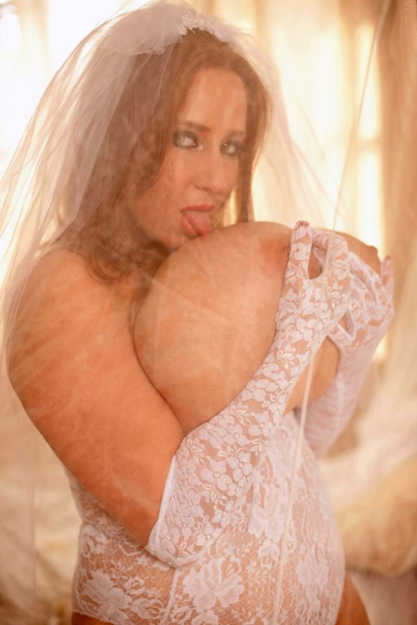 bride with massive big natural tits lick huge nipple hungry cock sucking milf