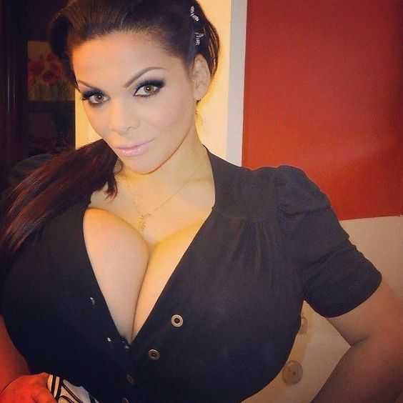 Housewife with Massive Fake Tits