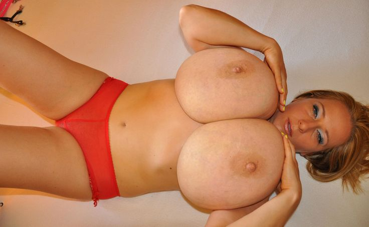 playing with big natural tits