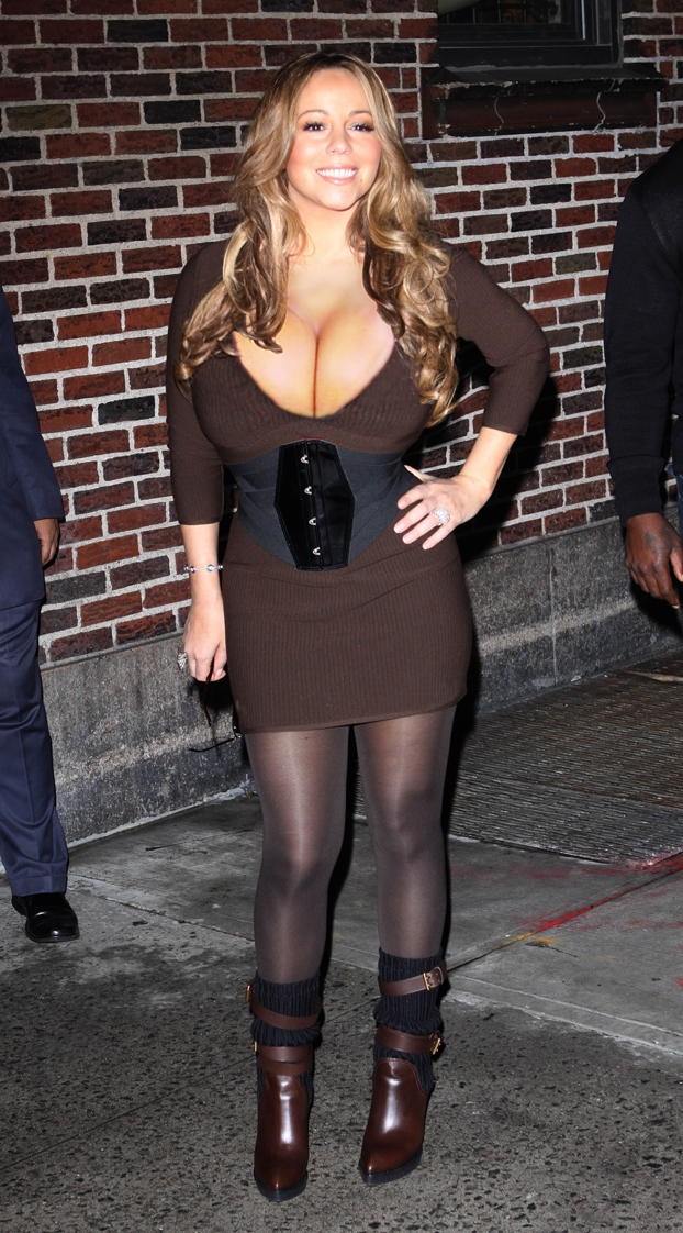 Mariah Carey Big Breast Expansion Morph Pic-2257