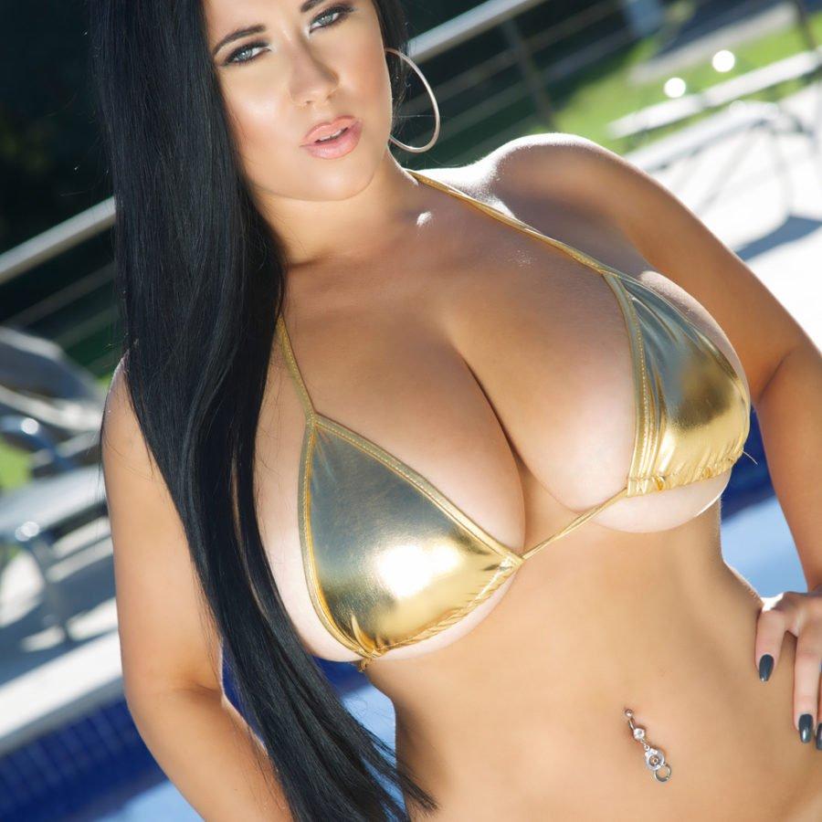 Big Natural Tits Bikini
