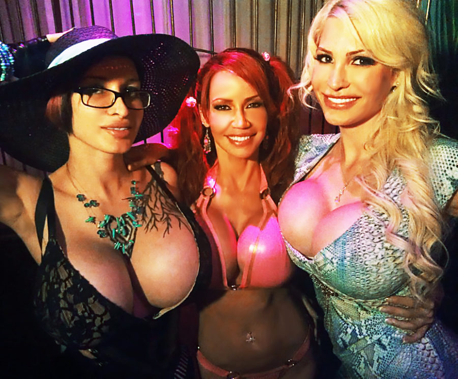 glamour party titty time bimbos in the club