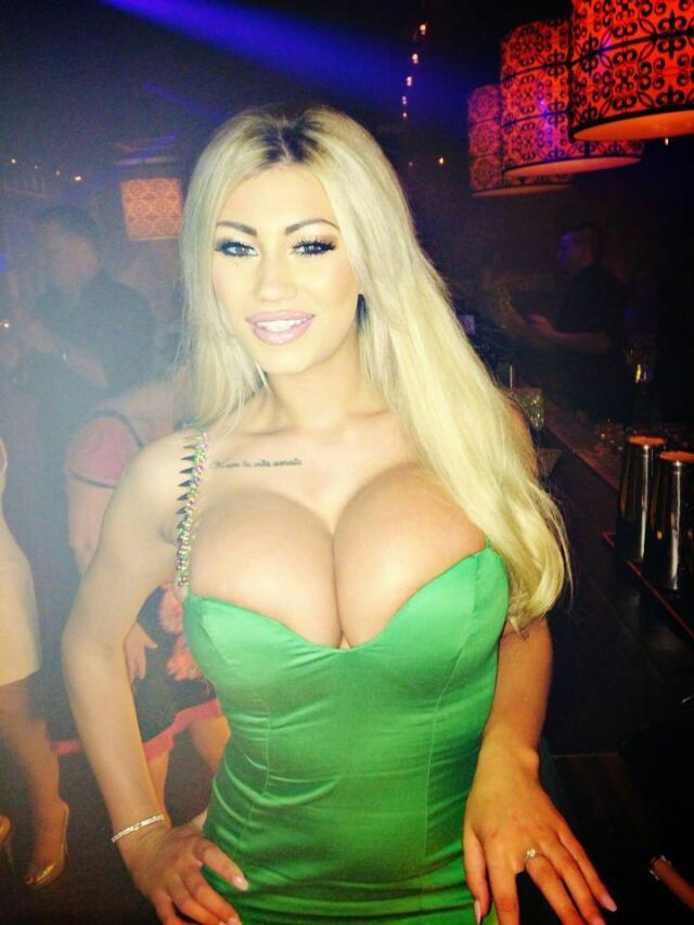 Sophie Dalzell big tits glamour party