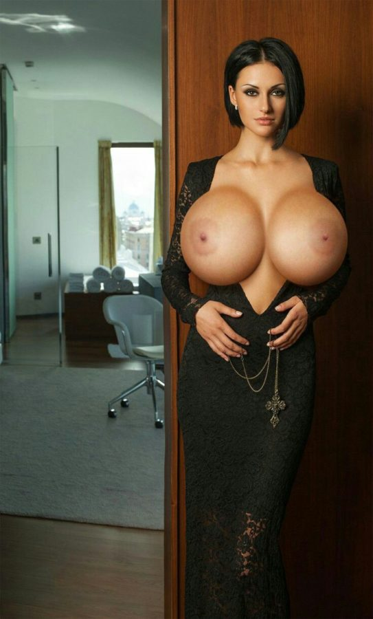 secretary big tits expansion in office