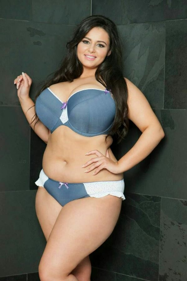 cute chubby with huge natural breasts
