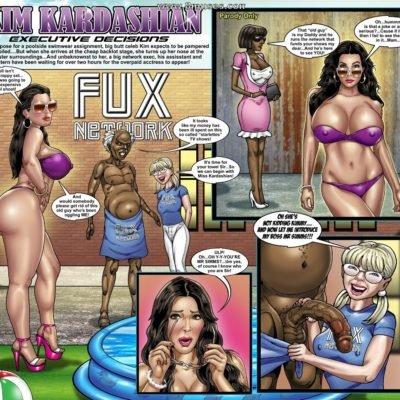 Kim Kardashian XXX Comic Parody