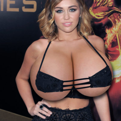 Famous Celebs with Massive Boobs