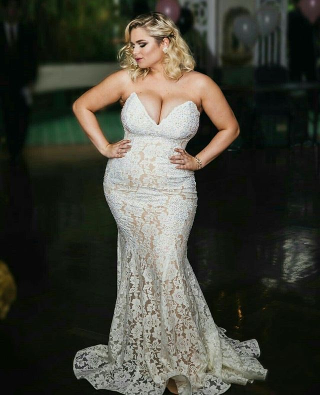 big tits blonde in wedding dress