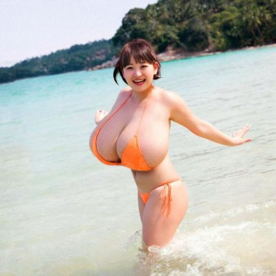 Cute Asian with Massive Tits