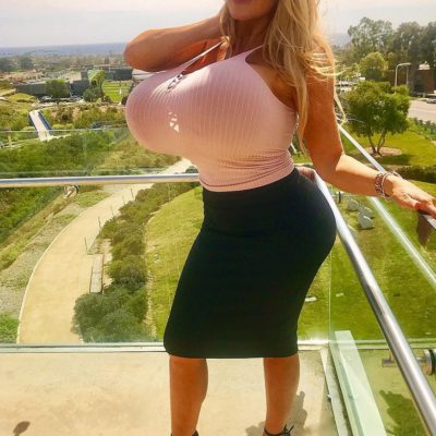 Milf Mom with Gigantic Boobs