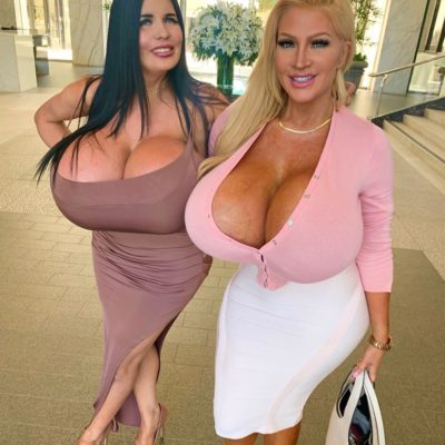 Allegra Cole and her Big Juggs Babe